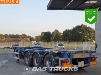 LAG 0-3-39 02 3 axles ADR 1x 20 ft 1x30 ft - container/ wechselfahrgestell auflieger