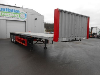 Schmitz Cargobull Platform twistolocks - full steel/drum brakes - 30 pieces available - container/ wechselfahrgestell auflieger