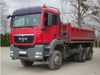 Kipper MAN TGS 26.400 6x6 EURO5 Dreiseitenkipper TOP!