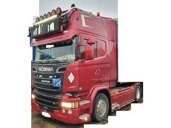 Scania R580*EURO 6*FULL AIR-SUSPENSION*Clutch pedal  - sattelzugmaschine