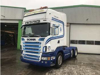 "Scania R580 ""King of the Road"" old Tacho !! - sattelzugmaschine"