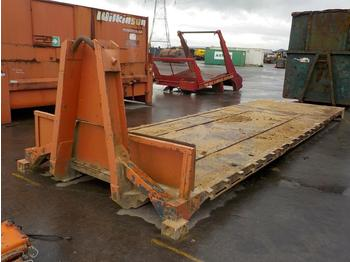 Roro Flat Bed to Hook Loader Lorry - abrollcontainer